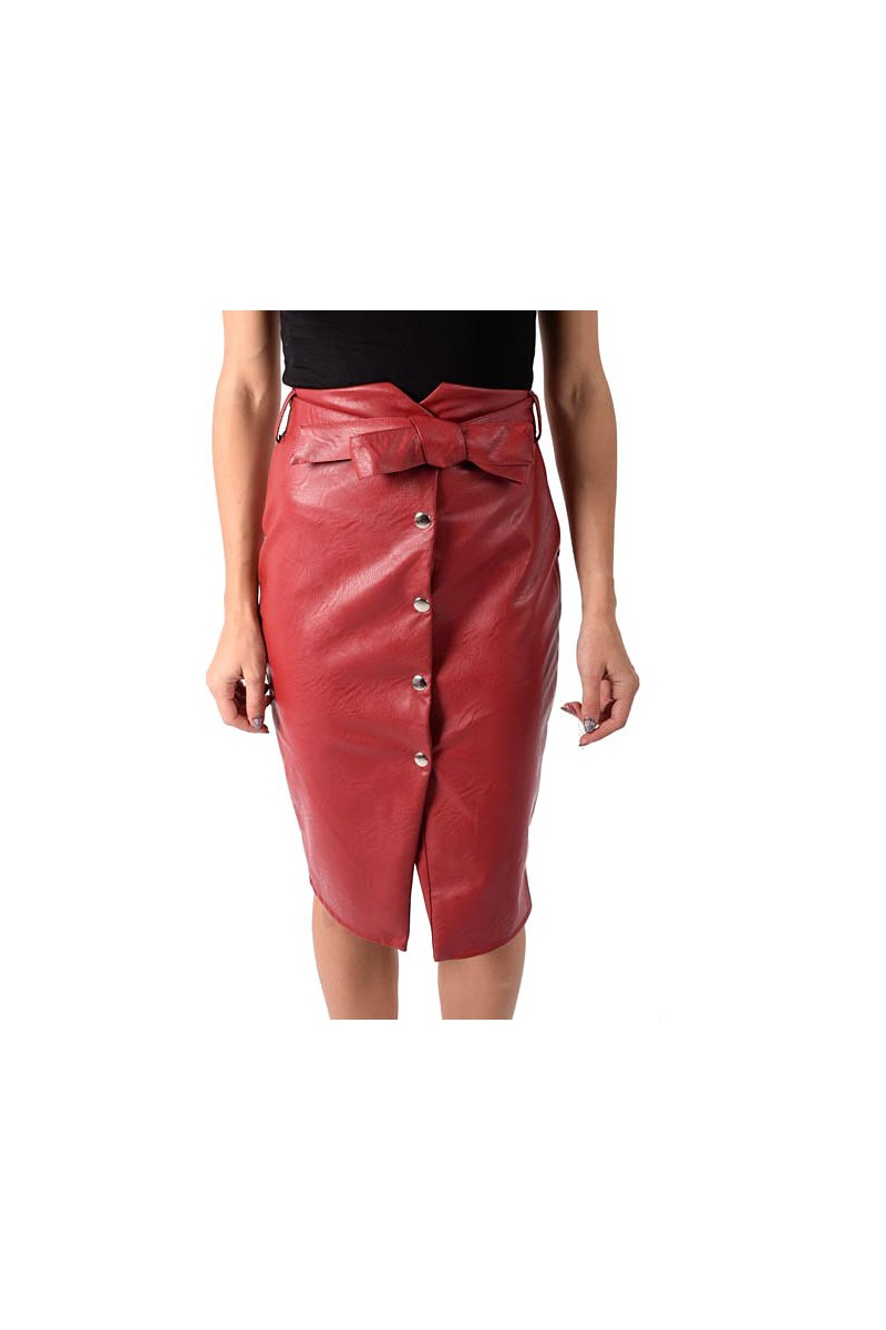 jupe simili cuir cinelle boutique. Black Bedroom Furniture Sets. Home Design Ideas