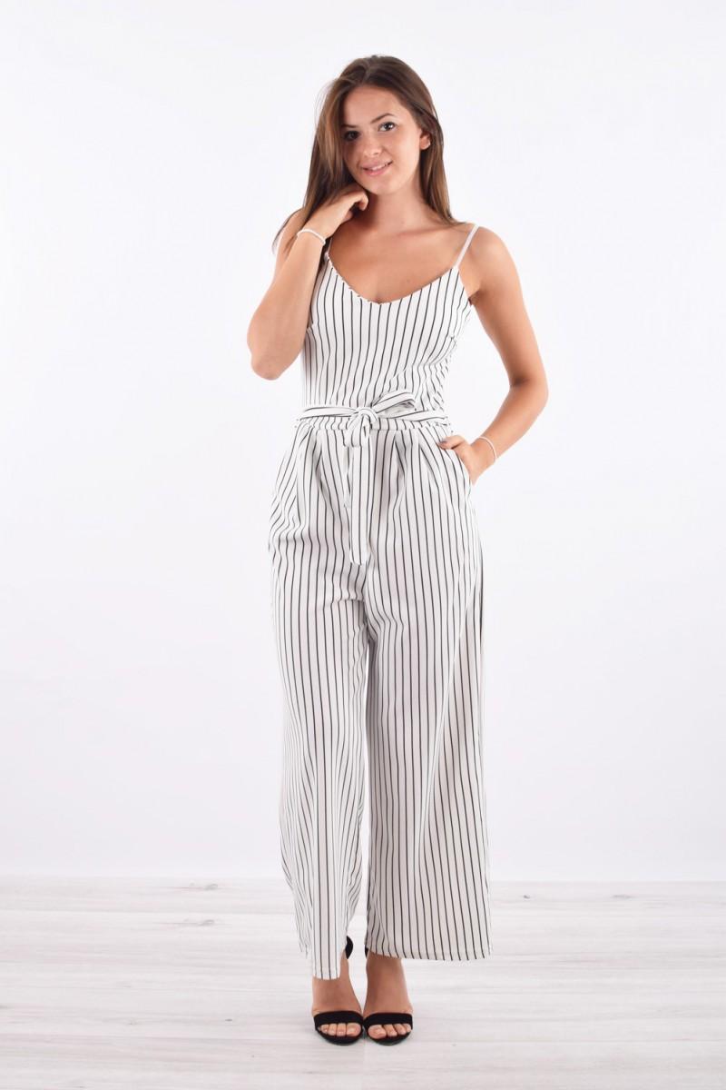 07a7fd69c1c ... Combinaison à rayures chic - cinelle boutique - site vêtement femme ...