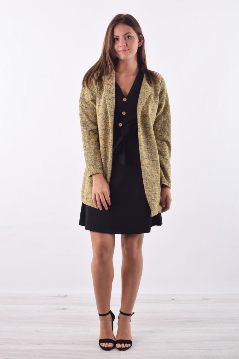 99f61b95437 Veste longue tendance - Cinelle boutique - vêtement femme pas cher