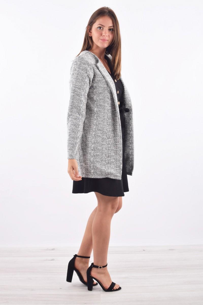 44da6bd7c33 Veste longue tendance - Cinelle boutique - vêtement femme pas cher
