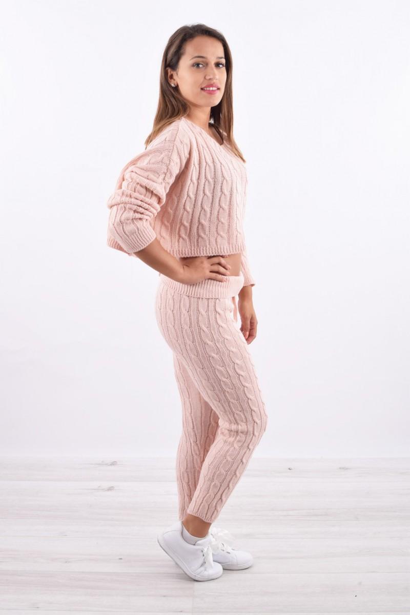 8208069b511 Ensemble crop pull cosy - Cinelle boutique - vêtement tendance pour ...
