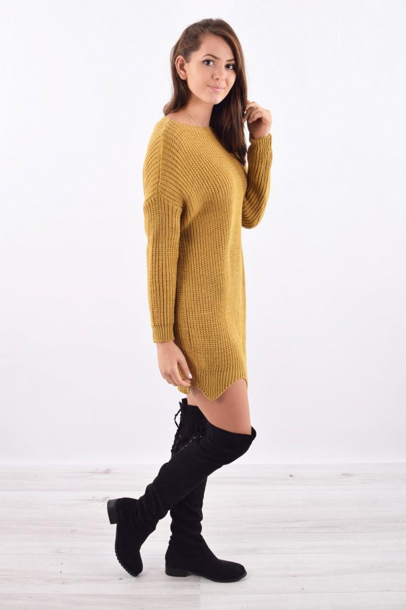 ... robe pull grosses mailles femme pas cher cinelle boutique ... a792b0445c28