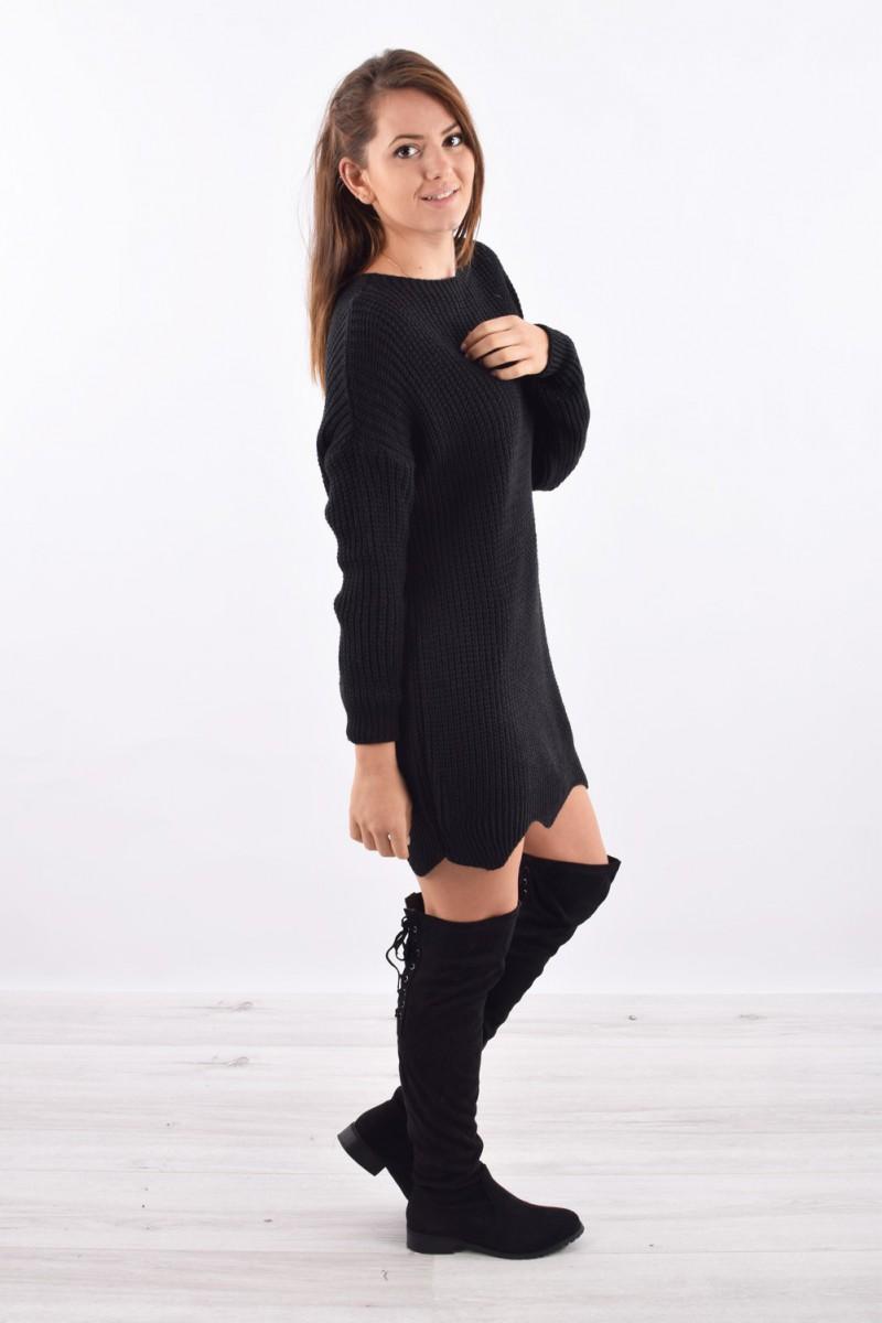 d0f3015f635 ... robe pull grosses mailles femme pas cher cinelle boutique ...