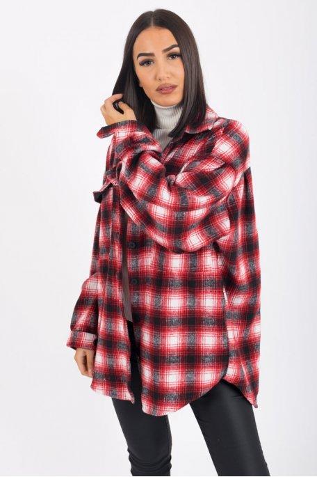 Chemise molletonnée style bûcheron