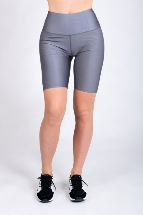 Short cycliste gris