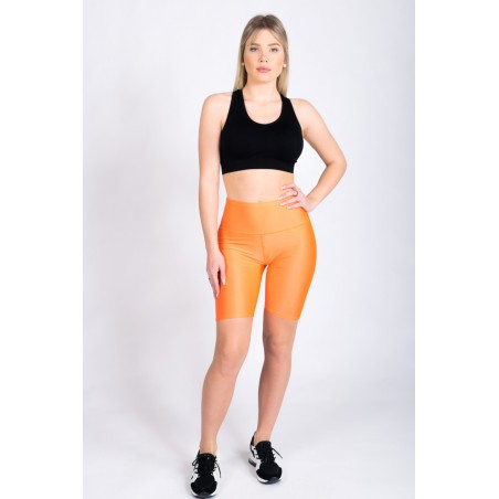 Short cycliste orange