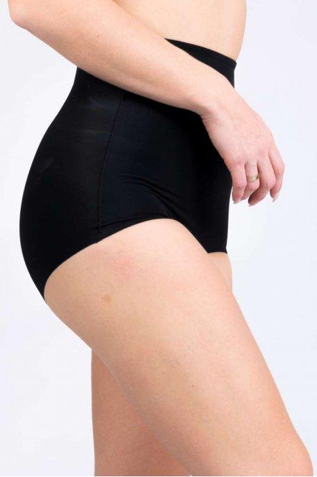 Culotte gainante noire ventre plat