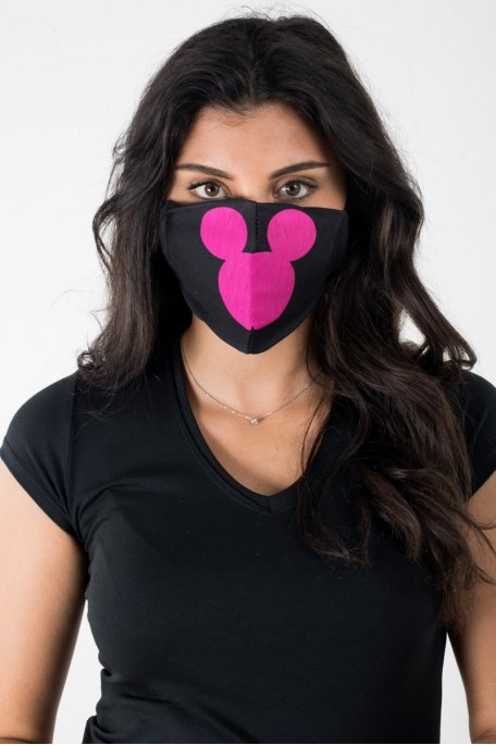 Masque Mickey rose
