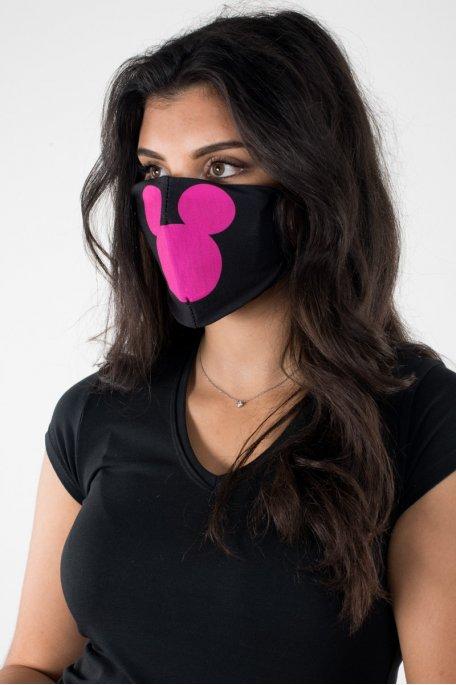Masque Mickey rose