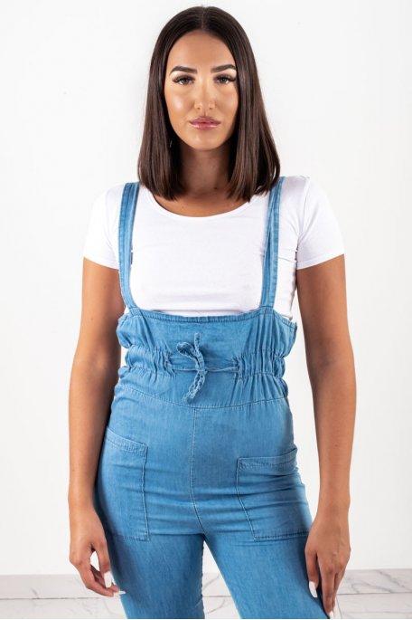 Combinaison bleu tee-shirt