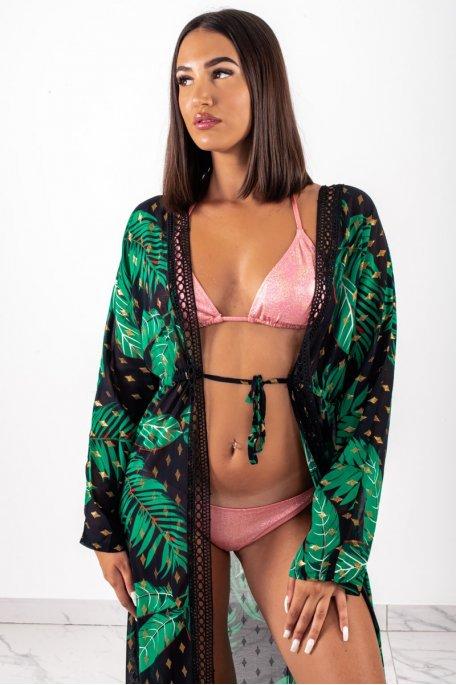 Kimono tropical noir