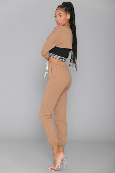 Ensemble jogging camel