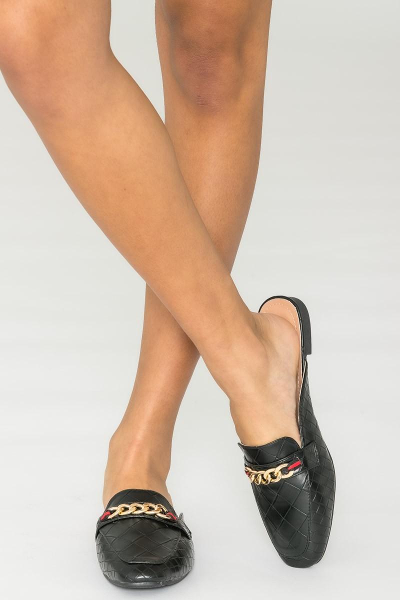 Femmes//Métallique SIMILICUIR triple bretelles Diapositive Sandale Sandale 18252