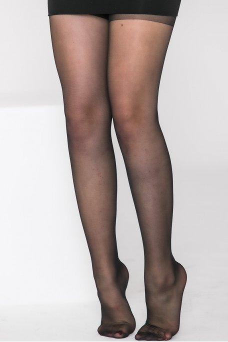 Collants uni noir 20D