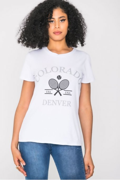 Tee-shirt Colorado blanc