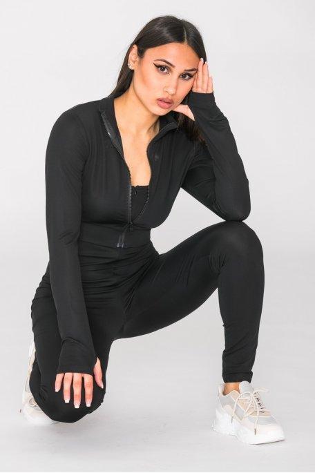 Ensemble veste et combinaison noir