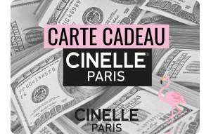 Carte cadeau Cinelle Paris